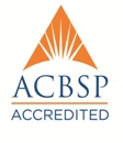 ACBSP Accredited